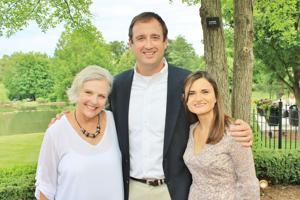 Mary Gamache, Chris and Andrea Vinyard