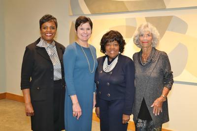 Dr. Gwendolyn Packnett, Marian Nunn, Peggy Lewis LeCompte, Carol Loeb