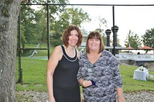 Awardees Just Moms STL Dawn Chapman and Karen Nickel