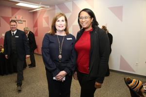 Council President and CEO Cynthia Prost, Nicole Hudson