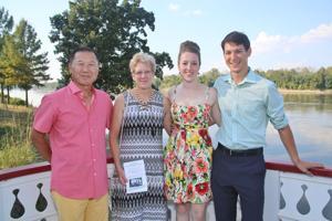 Allen and Beth Shimotani, Segolene Renaze, Benroy Shimotani