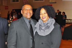 Demetrius and Stephanie Alfred