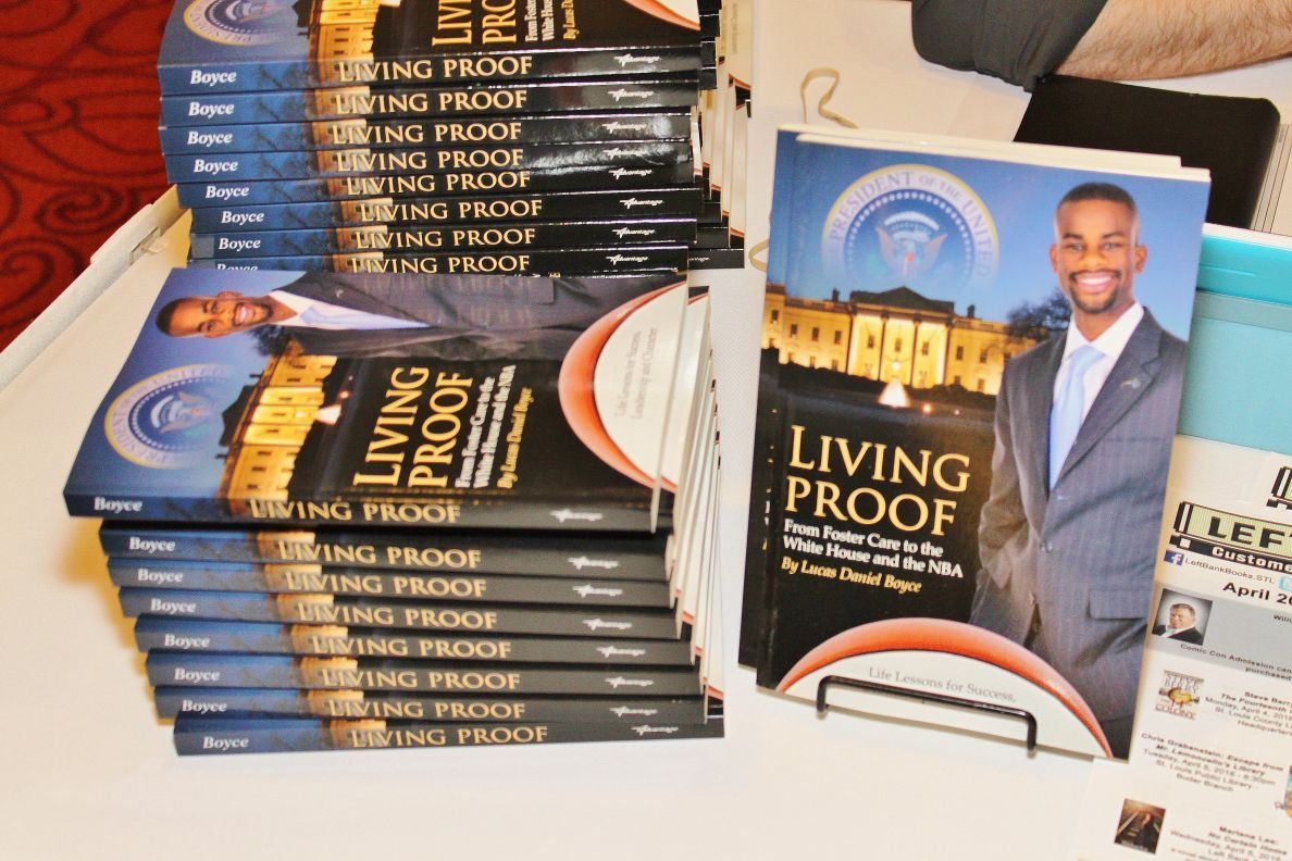 Living Proof: From Foster Care to the White House and the NBA
