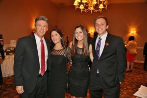 Bill, Lisa, and Allie Greene, Chris Mansfield