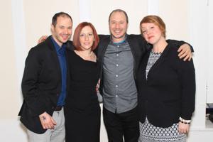 Jeff and Meagan Vines, Randy Vines, Amanda Clark