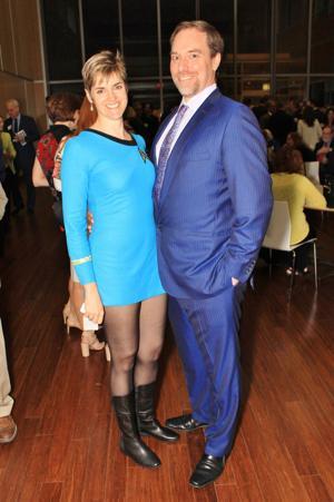 Julie and Glen Schuster