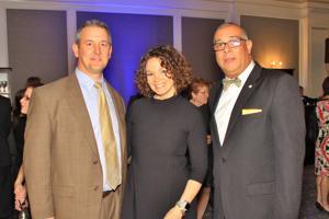 Chris and Jennifer Klaverkamp, Marvin Teer Jr.