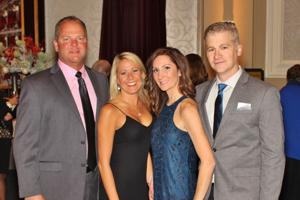 Christy and Brad Beck, Chrissy and Rick Borage