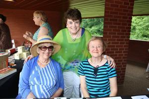 Jeanne McLean, Lea Virtel, Carol Darnall