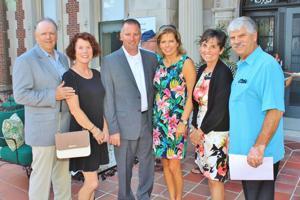 Daniel McCann, Janet Moellenhoff, Lori and Jeff Guilliams, Cathy Mayrose, Bud Reber