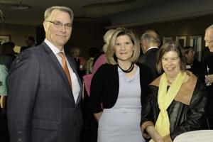 Greg and Suzy Hartman, Fran Pestello