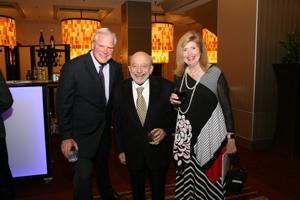 Dan Farrell, Sherman and Joan Silber