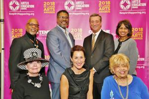 Awardees:  Keith Tyrone Williams, Gene Dobbs Bradford, Denny Reagan, Patty Gregory, Susan Sherman, Johnetta Haley