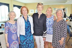 Connie Green, Liz Vann, Margie Franz, Joan Ball, Celia Ponsler