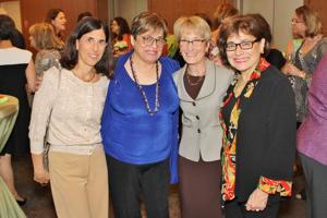 Jane Rubin, Judith Newmark, Fran Balk, Mary Cornfeld