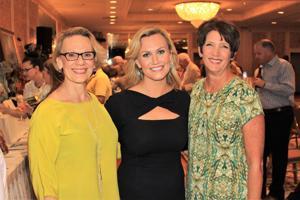 Pat Hessel, Katherine Hessel, Pam Farris