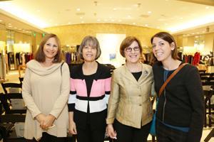 Debi Feit, Susan Kalishman, Debbie and Laura Horwitz