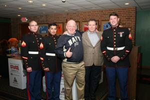 Corp Chapman, Sgt Jaimes, Jim Naumann, Dr. Sean Bailey, Sgt Biassett