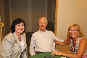 Kelley Pollard, Ken and Mary Clark
