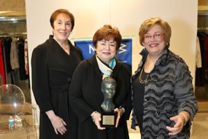 Susan Witte, President , awardee:  Maxine Clark, Sussan Katzman, President Elect