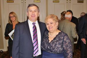 Dominik  and Sharon Misuraca