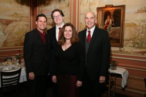 Robert Valentine, Zack Devin, Gina Galati, Eric McCluskey
