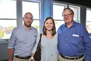 Patrick Hamacher, Catherine and Bill Gilbert