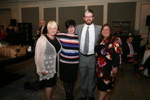 Val Toskin, Kara Dudley, Joe and Shannon Rohlman