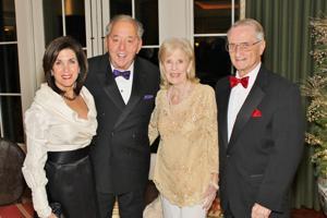 Pamela and Mel Brown, Anita and Gene Adam