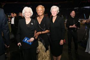 Jan Carver, Hazel Morris, Kathy Weyhrich