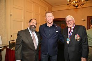 Ronando Lopez, Rob O'Neill, keynote speaker, killed Osma Bin Laden, Harry Hope Chairman Emeritus