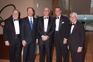 Michael Rea, Michael Shanahan, Warner Baxter, Denny Reagan, Tom Voss
