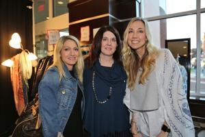 Christine Stadnyk, Beverly Sansone, Nicki Myers