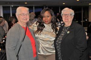 Sr. Mariana Papiernik, Michelle Taylor (Honoree), Sr. Jacinta Elmendorf