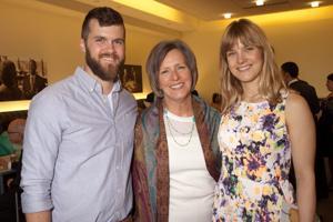 David Baker, Mary and Rachel Stewart