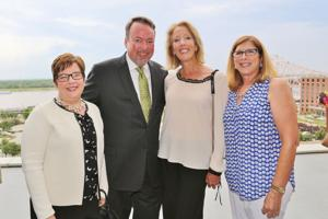 Gen and Joe Frank, Lisa Herder, Maureen Radice