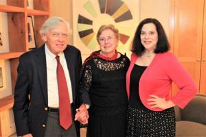 Joe and Carolyn Miles, Gigi Lambrano