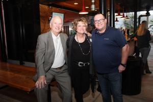 Dick Haffner, CEO and President Vicky James, Rob Darroch