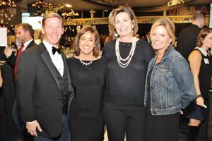 Jim and Melissa Fox, Eloise Schmitz, Carolyn Dames