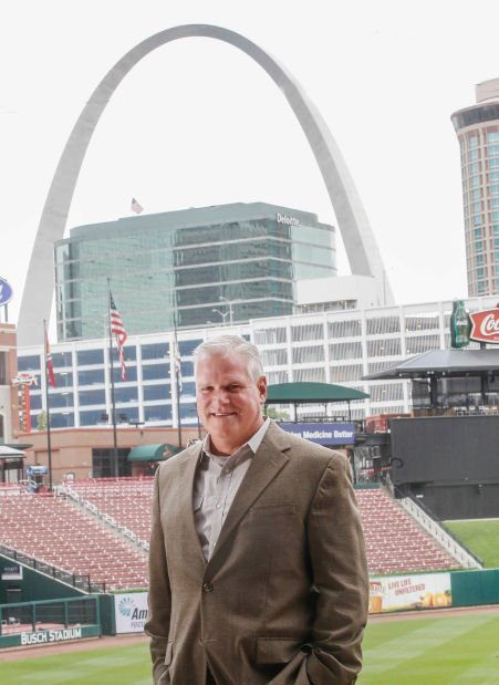 Dan Farrell, Sales Vice President of the St. Louis Cardinals