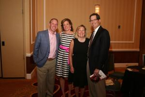 Co Chairs Andy and Katherine Byer, and Sally and Ken Katzif