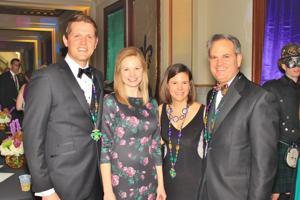 John and Nicole Galloway, Gordon and Liz Reel