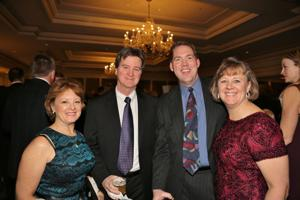 Jean and Kevin Curry, Tim and Martha Vosse