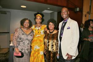 Marla Dunbar, Deborah D. Ahmed, Connie Wilson, Malik Ahmed CEO