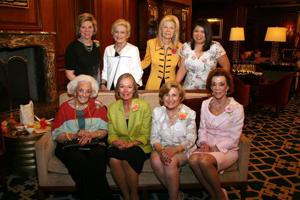 Marsha Rusnack, Joan Quicksilver, Noemi Neidorff, Trish Muyco Tobin, Norma Stern, Carol Voss, Lennore Pepper, Peggy Ritter