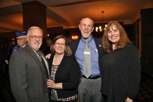 Steve and Michelle Lovell, John Kellogg, Bonnie Murphy
