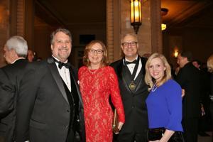 John Pieper, Terri and Joe Swan, Christy Oldani