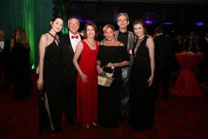 Haley Sanders, Skip and Cathy Dufor, Jackie and Dr. Stephen Sanders, Katharine Eckert