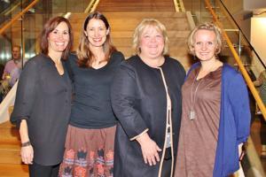 Karen Dubinsky, Natasha Westrack-Wood, Mary Mercurrio, Carolyn Gertsch