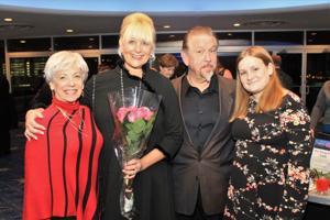 Joan Diamond, Laura and Tom Ray, Madison Ray (Honorees)